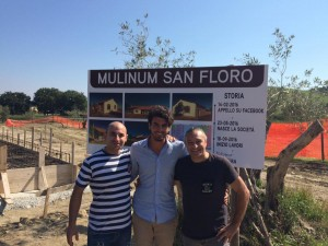 Stefano Caccavari 26 years old, citizen and farmer in a small lovely village called San Floro